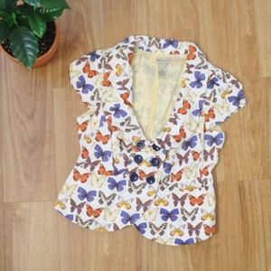 Elevenses Butterfly Jacket from Anthropologie